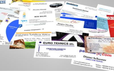 carti de vizita 400x250 Inscriptionari Auto   Panouri Publicitare   Bannere Publicitare