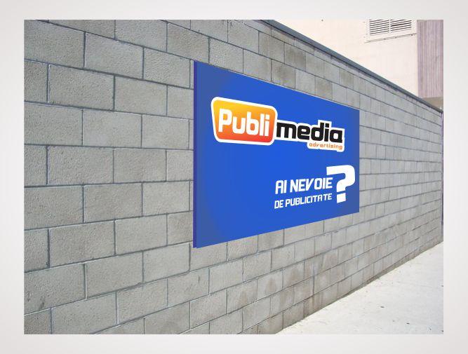 panou perete Pret panou publicitar cu fixare pe perete